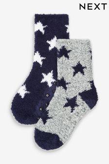 Набор мягких носков (2 пары) (Младшего возраста)