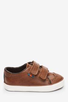 נעלי אוקספורד עם רצועות הידוק (ילדים)