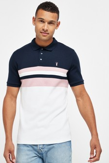 Blocked Soft Touch Poloshirt