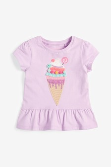 Ice Cream Appliqué T-Shirt (3mths-7yrs)