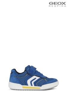 Niebiesko-żółte buty chłopięce Geox Junior
