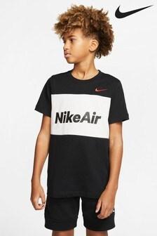 Nike Air T-Shirt mit Farbblockdetail an der Brust