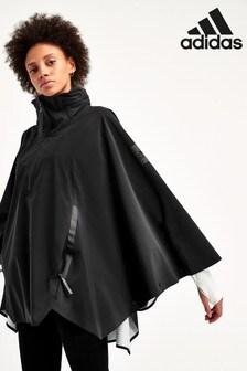 Jachetă tip capă adidas MyShelter neagră