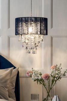 غطاء مصباح معلق سهل التركيب كحلي Palazzo