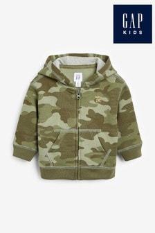 Gap Baby Camouflage Zip Through Hoodie