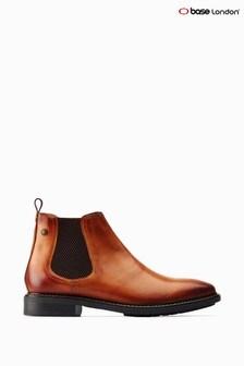 Base London® Tan Seymour Chelsea Boots