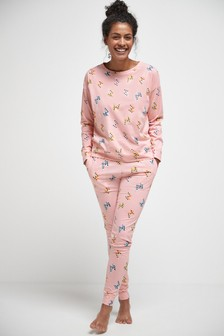 Printed Cotton Pyjamas