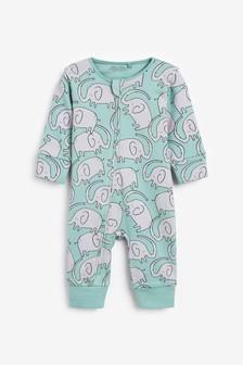 חליפת שינה עם פיל