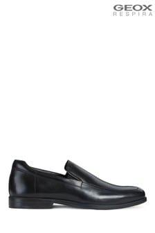Geox Mens Calgary Black Shoes