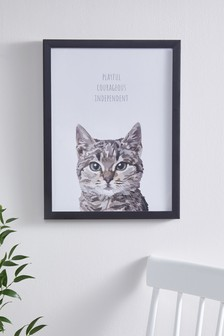 Obraz s motívom mačky