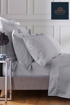 Bedeck Of Belfast Silver 1000 Thread Count Oxford Pillowcase