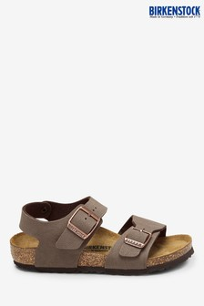 Birkenstock® Brown Mocha New York Sandals