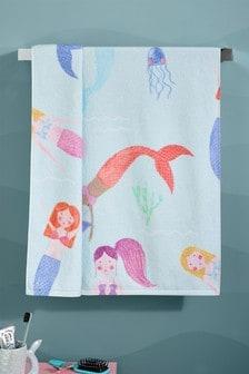 Children's Mermaid Towel