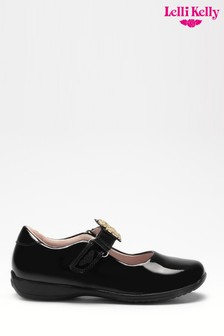 Lelli Kelly Black Patent Dog Shoes