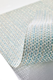 Set of 6 Woven Shimmer Placemats