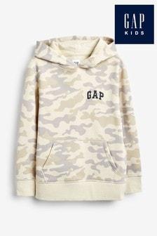 Gap Boys Camo Logo Hoody