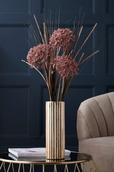 Artificial Floral In Tall Vase