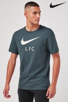 Nike Green Liverpool Swoosh T-Shirt