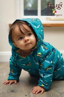 Frugi 藍色可再生防水布料嬰兒裝