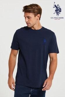חולצת טיDouble Horsemen גדולה שלU.S. Polo Assn