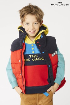 The Marc Jacobs Red/Navy Gilet