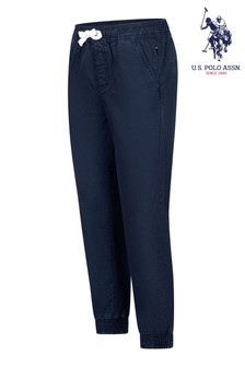 U.S. Polo Assn. Slash Pocket Cotton Trousers