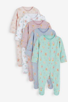 5 Pack Sleepsuits (0-3yrs)