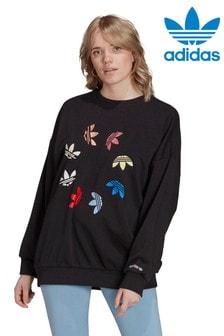 adidas Originals Verlängertes Sweatshirt mit Logografik