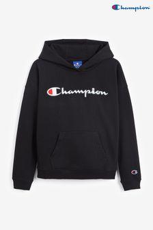 Champion Youth Black Hoodie