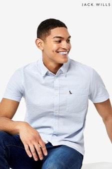 Jack Wills Sky Blue Stableton Oxford Shirt