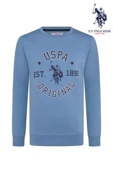 U.S. Polo Assn. Club House Crew Sweatshirt