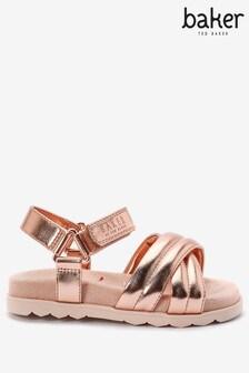 Baker by Ted Baker Rose Gold Sandals