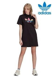 adidas Originals型格三葉草標誌裙