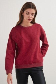 Sweatshirt met grafische print
