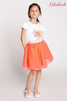 Billieblush Pink Rainbow Skater Skirt