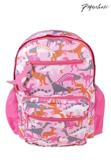 Paperchase Pink Dinosaur Backpack