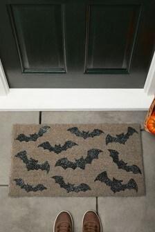 Glitter Bats Halloween Doormat (373693) | $20