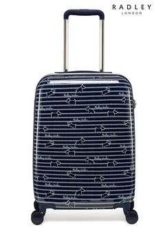 Radley Dog Stripe Small Hard Shell Suitcase