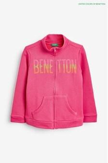Benetton Pink Full Zip Jacket