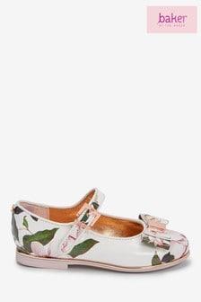 حذاء ماري جاين فيونكة مشجر أوبال من Baker by Ted Baker