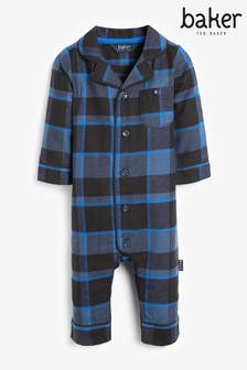 Baker by Ted Baker Blue Check All-In-One