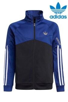 Темно-синий спортивный топadidas Originals SPRT