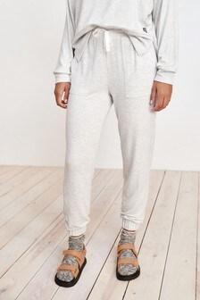 Pantalones de chándal de viscosa suave