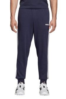 טרנינג עם 3 פסים של adidas דגם Essentials בכחול דיו