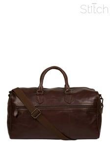 Кожаная сумка Made By Stitch Aviator