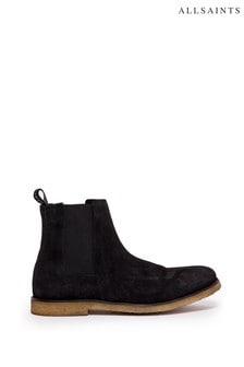AllSaints Rhett Chelsea麂皮短靴