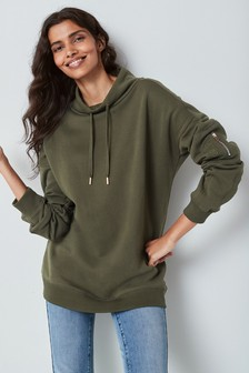 Premium Funnel Neck Sweatshirt