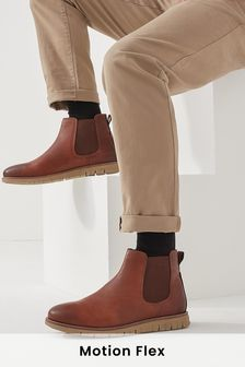 Motion Flex Chelsea Boots