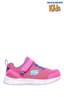 Skechers® Pink Comfy Flex Moving On Trainers
