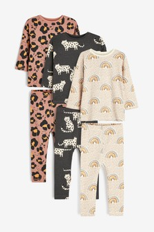 3 Pack Cotton Character Pyjamas (9mths-12yrs)